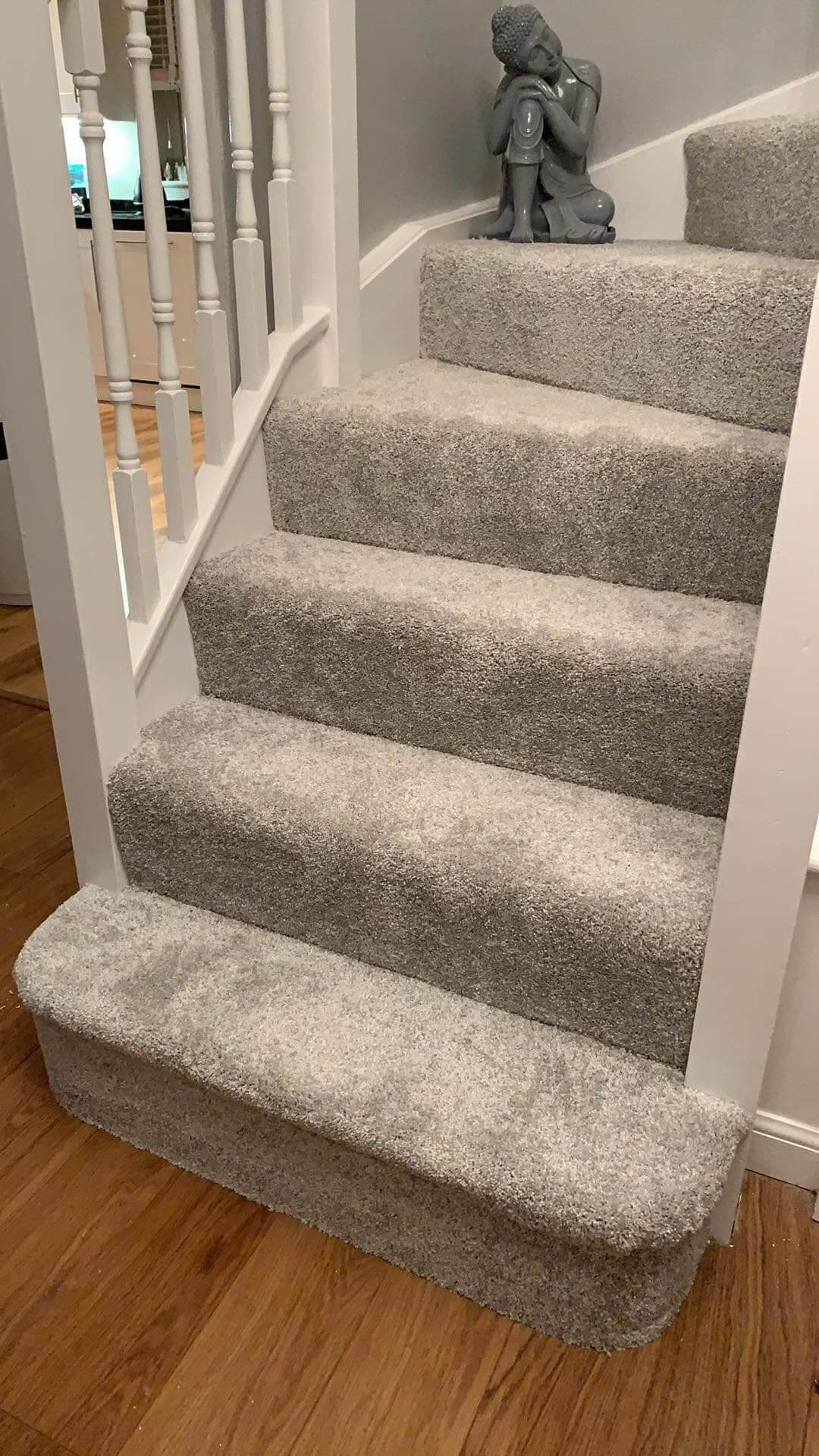 Carpet fitting on Stairs